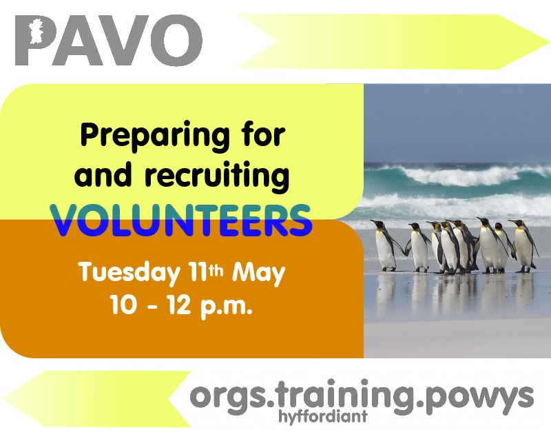 Preparing for & recruiting volunteers